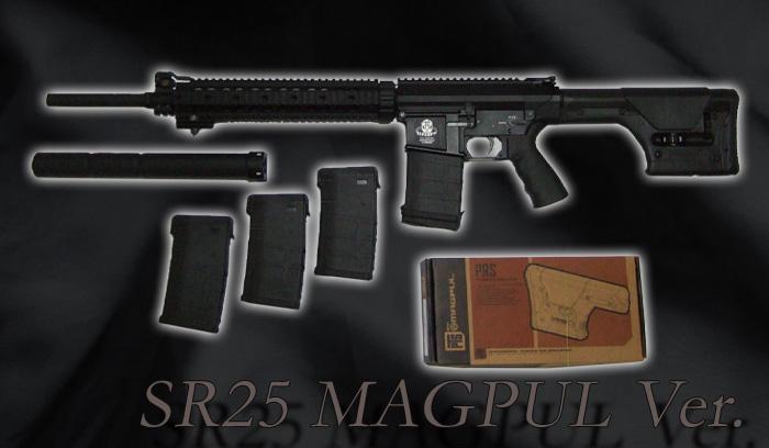 G&G SR25MAGPUL Ver.