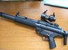MP5SD6のパワー調整作業